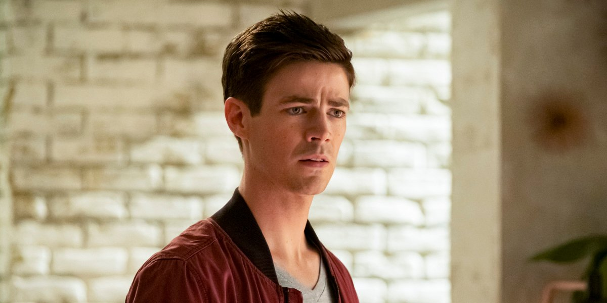 the cw the flash barry allen concerned
