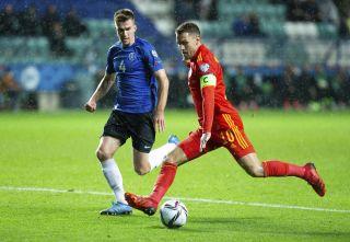 Estonia Wales WCup 2022 Soccer