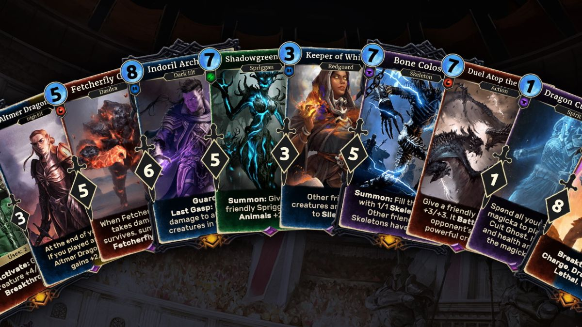 The Elder Scrolls: Legends cancels all new content but it's still online for now