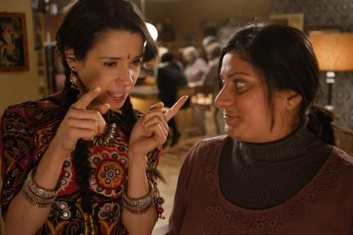 It's a Wonderful Afterlife - Linda (Sally Hawkins) & Roopi  (Goldy Notay) in the comedy from Bend It Like Beckham director Gurinder  Chadha