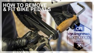 How to remove and fit bike pedals