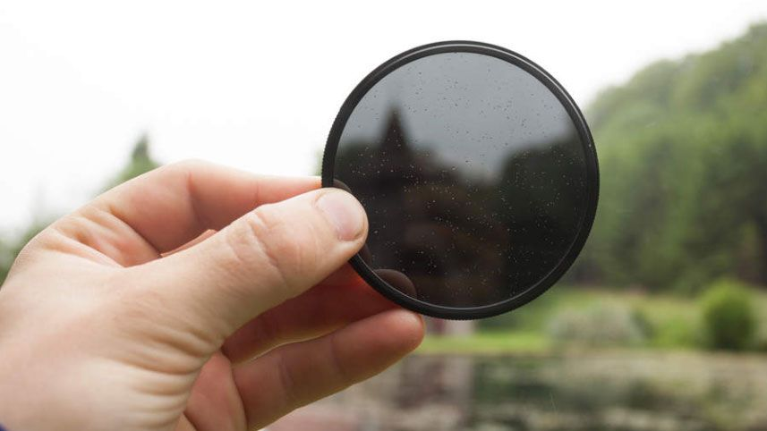 ND3 to ND400 Camera Lens Filters Kenko 58mm PL FADER Variable Neutral Density