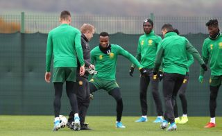 Celtic Training Session – Lennoxtown