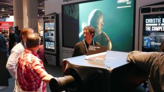 North America Debut of Christie Boxer 4K 30K Lumen at NAB