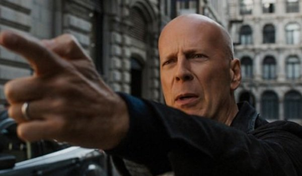 Death Wish Bruce Willis doing the classic finger gun from the original