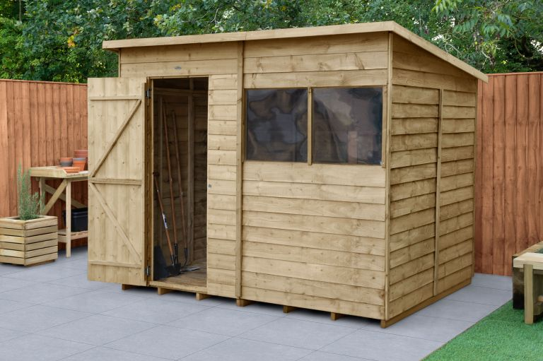 Protect garden sheds from burglars