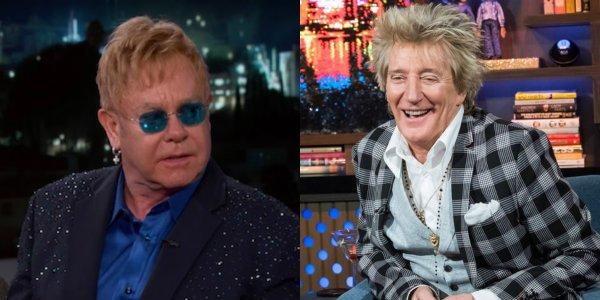 Elton John Jimmy Kimmel Live! Rod Stewart Watch What Happens Live!