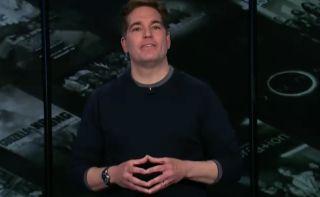 WarnerMedia Jason Kilar speaks during AT&T's Investor Day event.