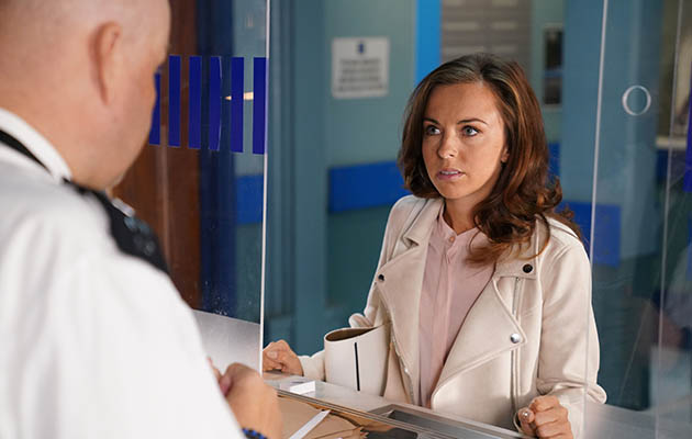 EastEnders - Ruby heads to the Police Station.