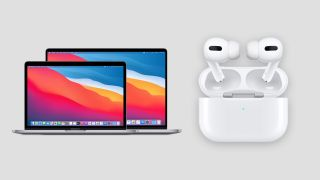 MacBook Pro and AirPods Pro