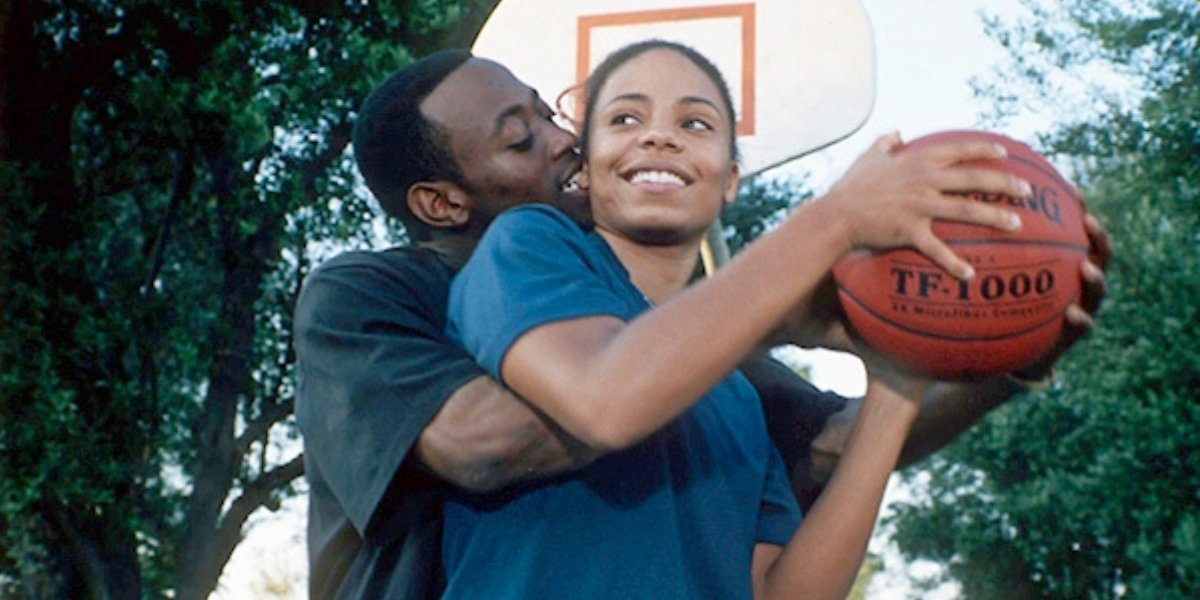Omar Epps and Sanaa Lathan in Love & Basketball