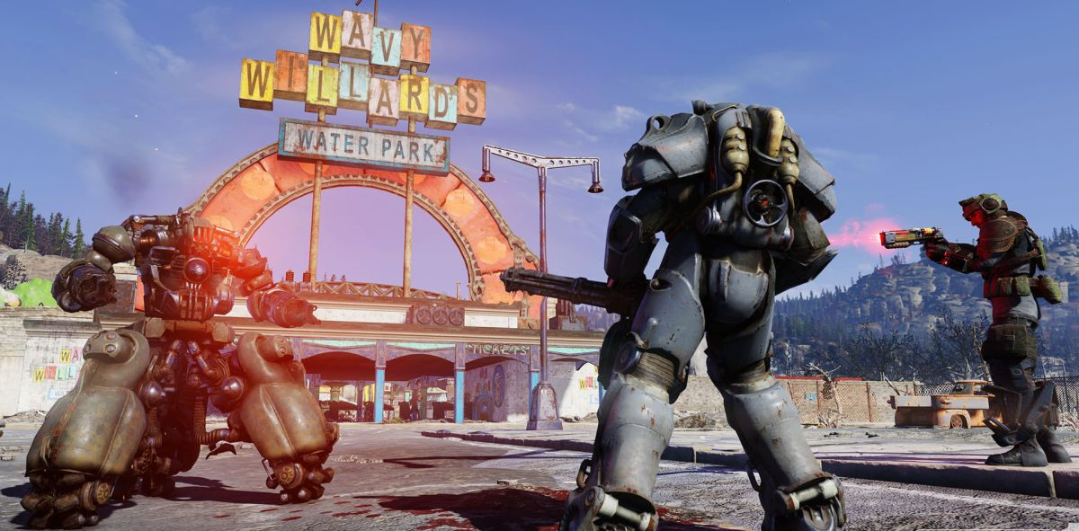 Fallout 76 PC 2 Shot Explosive Gatling Plasma TS Two Shot