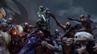 Doom launch trailer is half callbacks, half ass-kicking, all