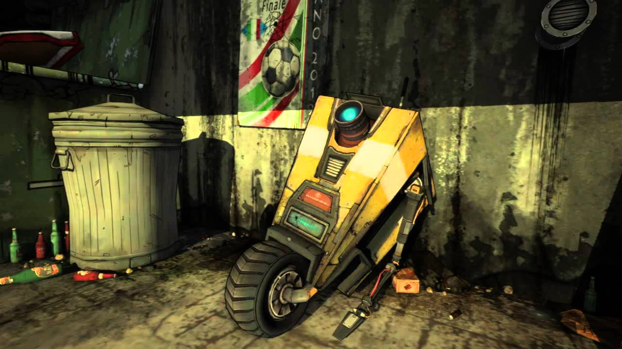 There's a lot of Claptrap fan fiction, and some of it's NSFW