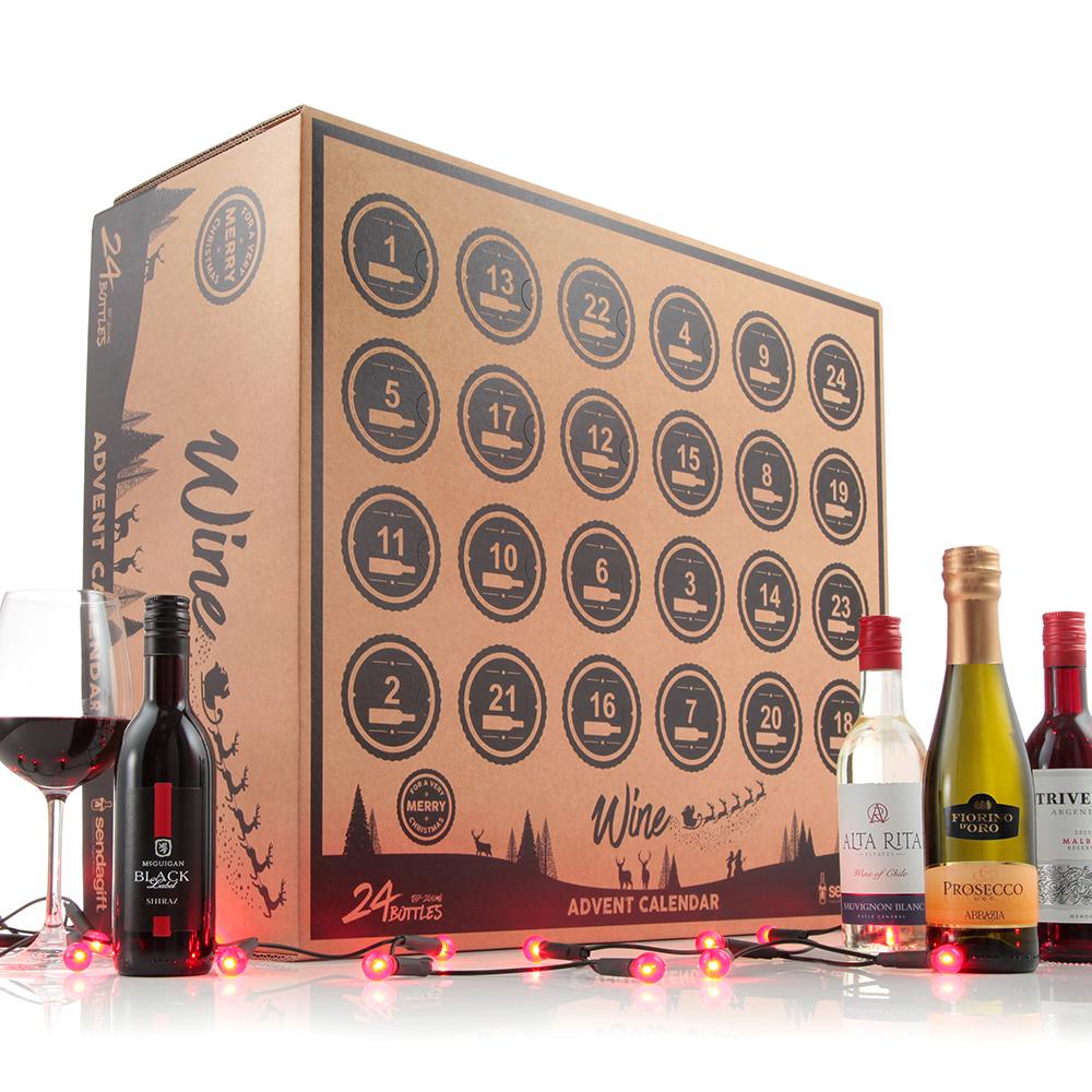 Virgin Wines Advent Calendar.Alternative Advent Calendars For Foodies