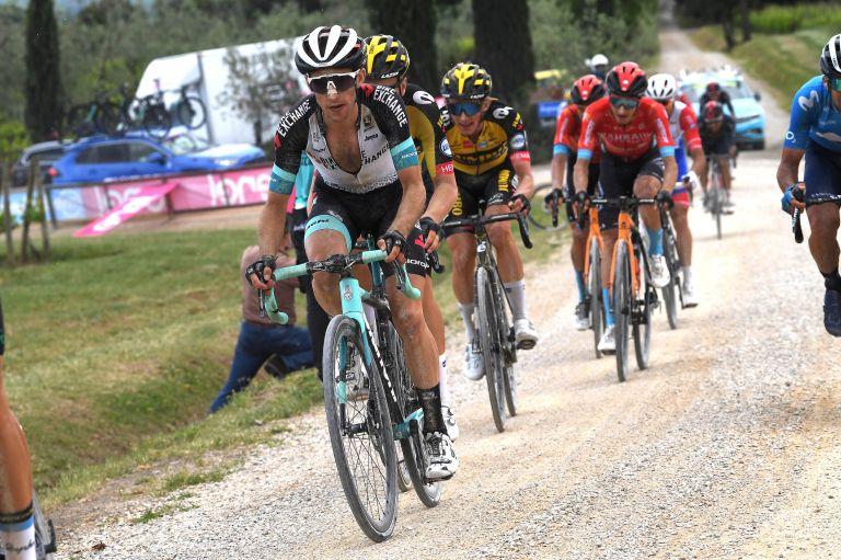 Simon Yates on stage 11 of Giro d'Italia 2021