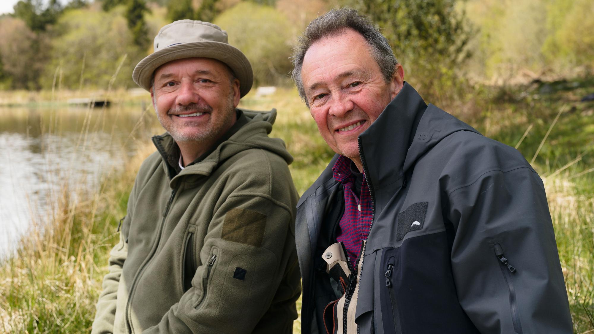 Los mejores espectáculos de pesca: Mortimer y Whitehouse Gone Fishing