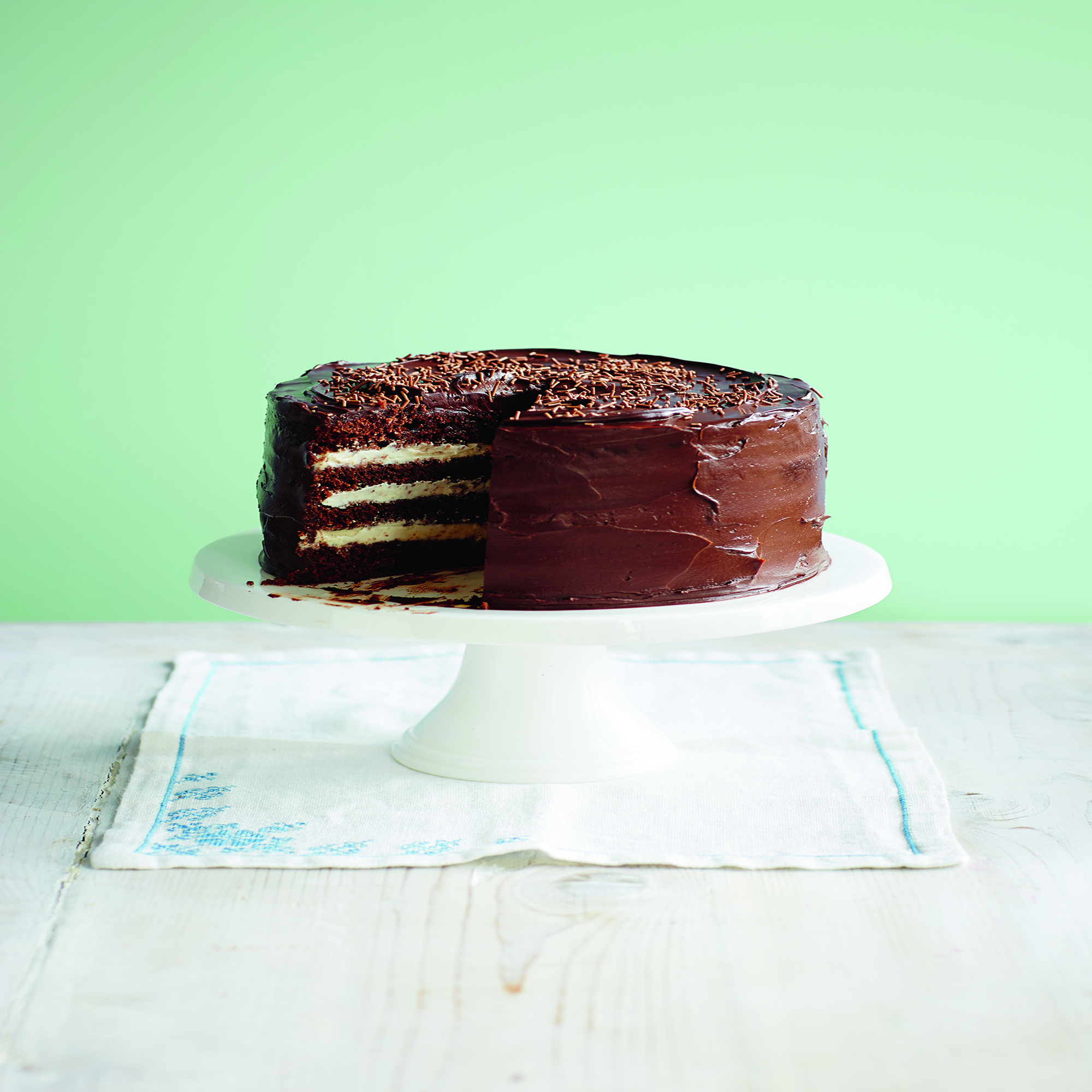Luxury Chocolate Layer Cake Recipe
