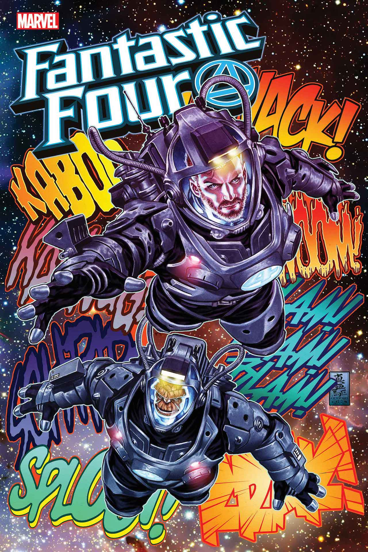 Portada de Fantastic Four # 31