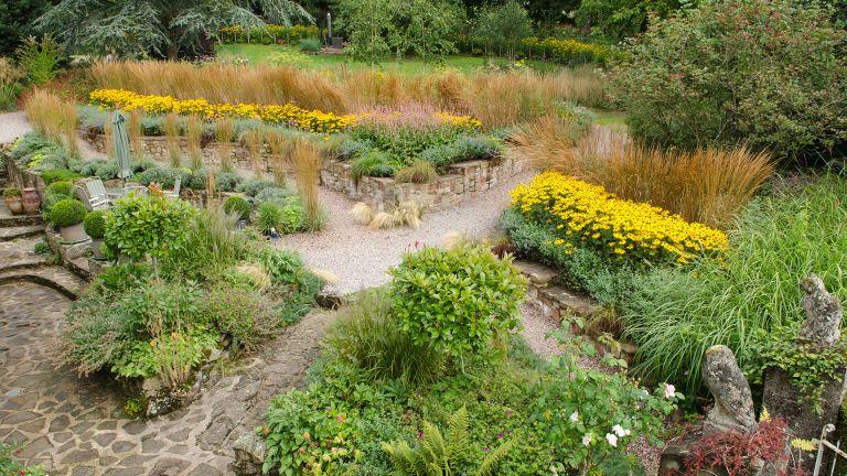 garden planted for year round interest