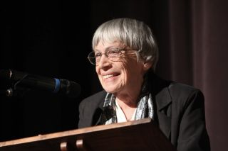 The writer Ursula K. Le Guin, who passed away on Jan. 22, 2018 at the age of 88.