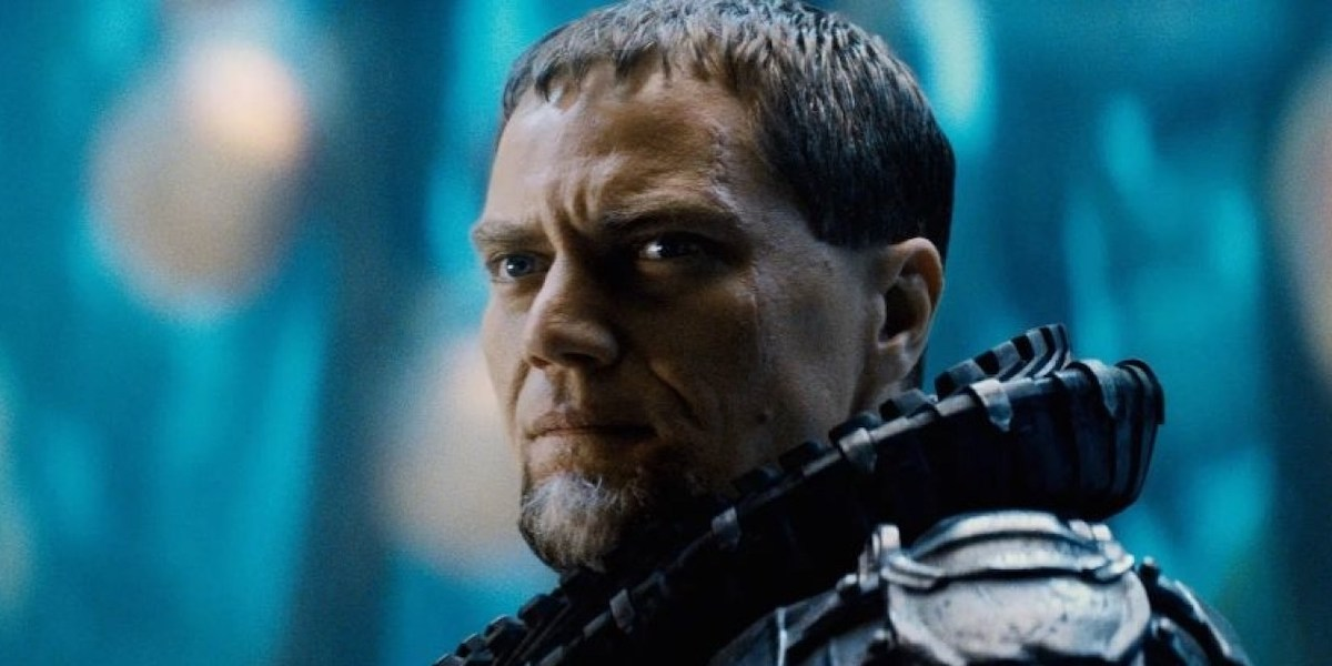 Michael Shannon as General Zod in Zack Snyder's Man of Steel