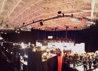 On Stage Audio and JBL Loudspeakers at Presidential Debates