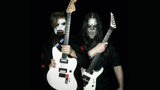 Jim Root and Mick Thomson of Slipknot