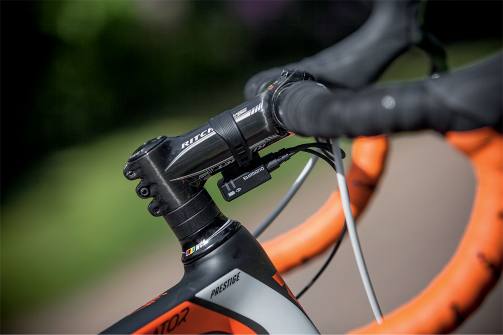 Di2 shifting goes some way to justifying the price tag