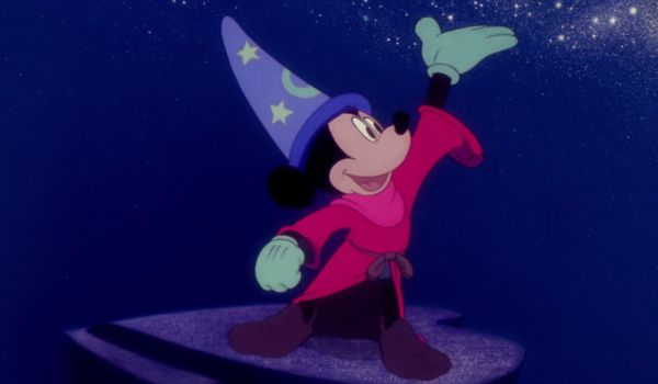 Sorcerer Mickey in Fantasia