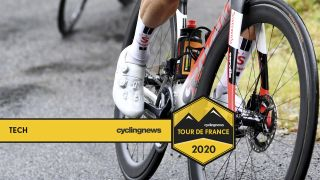New Shimano wheels at the Tour de France