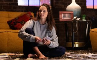 Pictured Rebecca Breeds as Clarice Starling