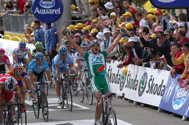 Thor Hushovd Tour de France stage 4