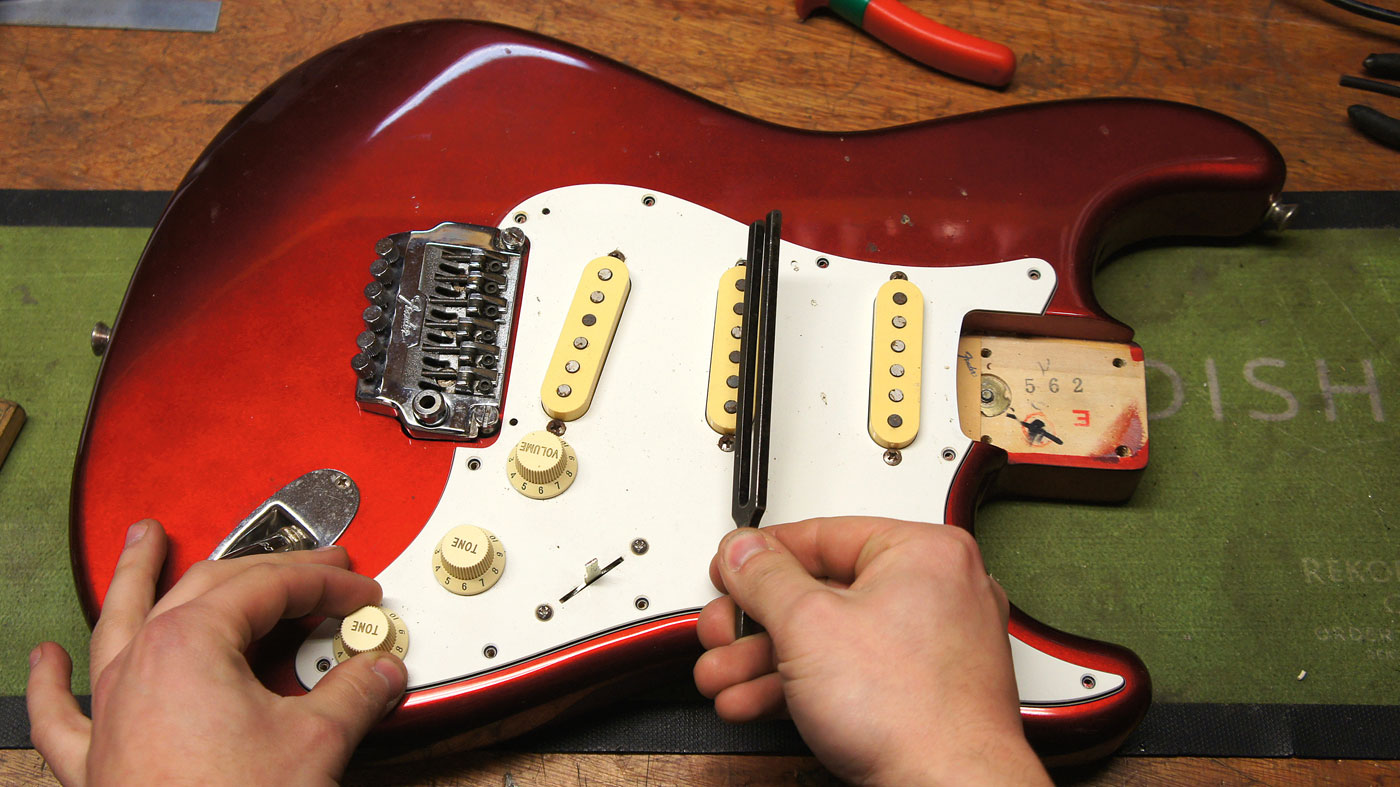 guitar setup how to install a new pickup selector switch musicradar