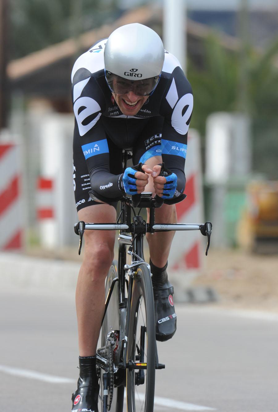 Ryder Hesjedal, Stage three time trial, Criterium International 2011