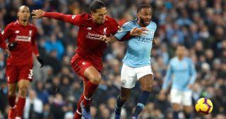 Liverpool Virgil van Dijk Manchester City Raheem Sterling