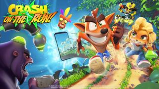 Crash Bandicoot On the Run image