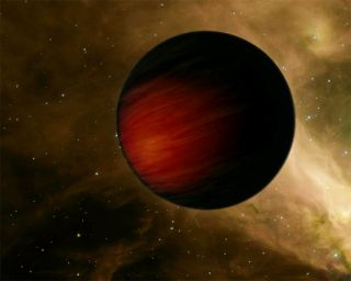 Sizzling Planet Makes Some Stars Look Cool