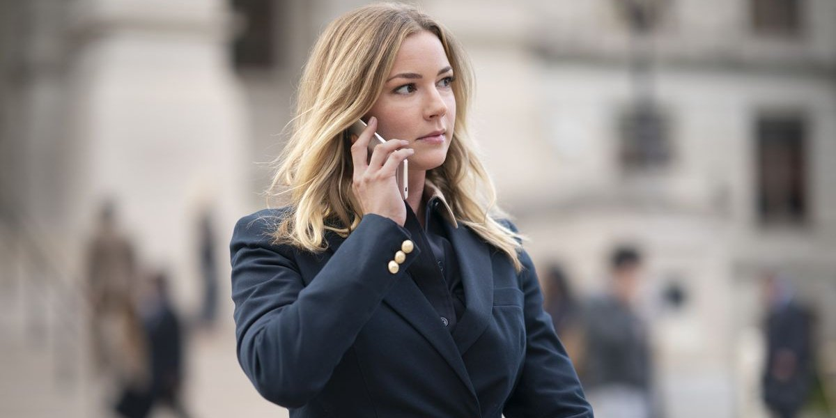 Sharon on a phone call in The Falcon and the Winter Soldier.