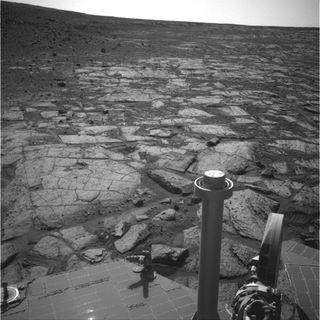 Opportunity Mars Rover Near Solander Point