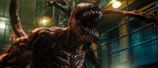 Carnage screams in Venom: Let There Be Carnage