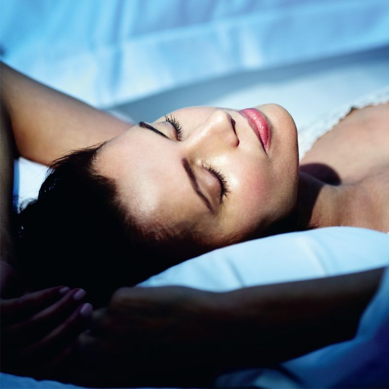 Serums cover image model sleeping skincare