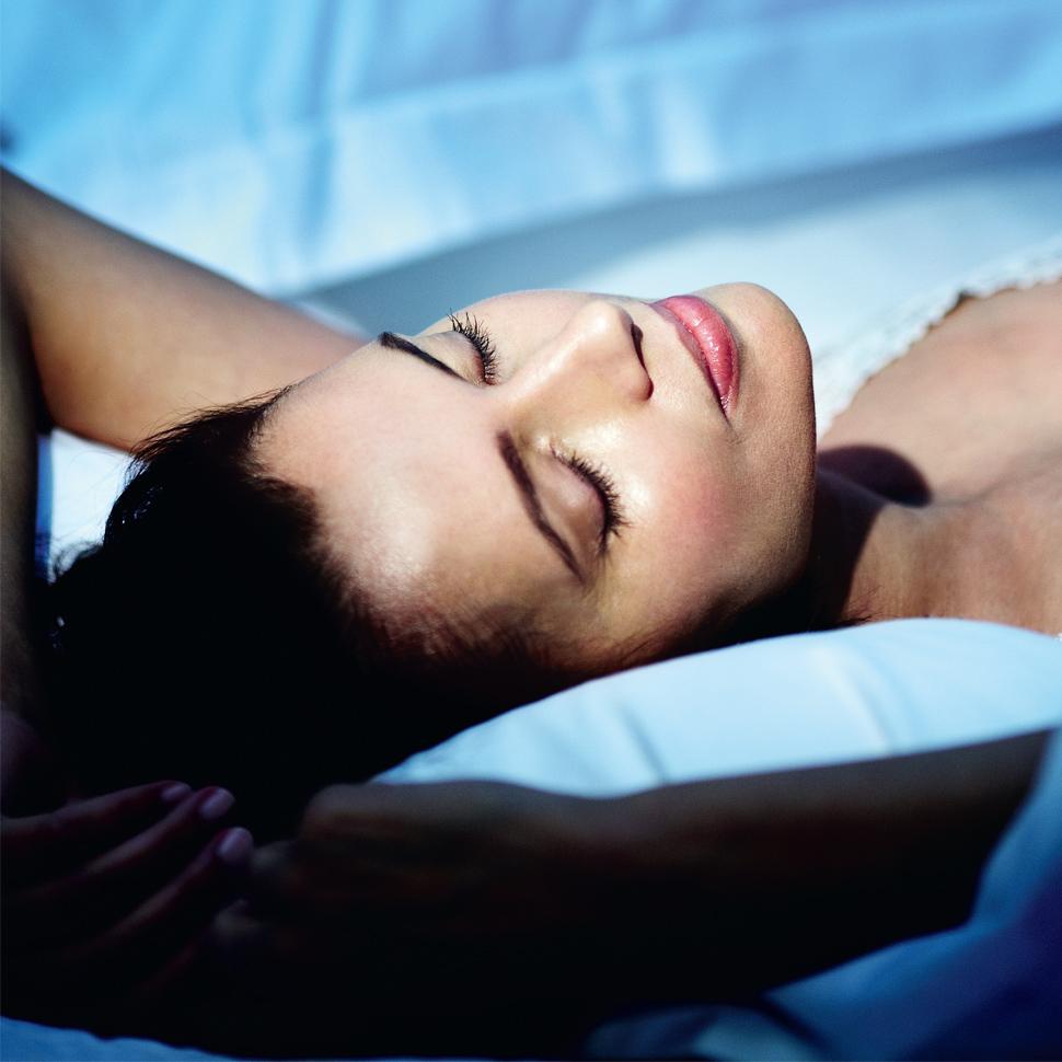 Serums cover image model sleeping skincare