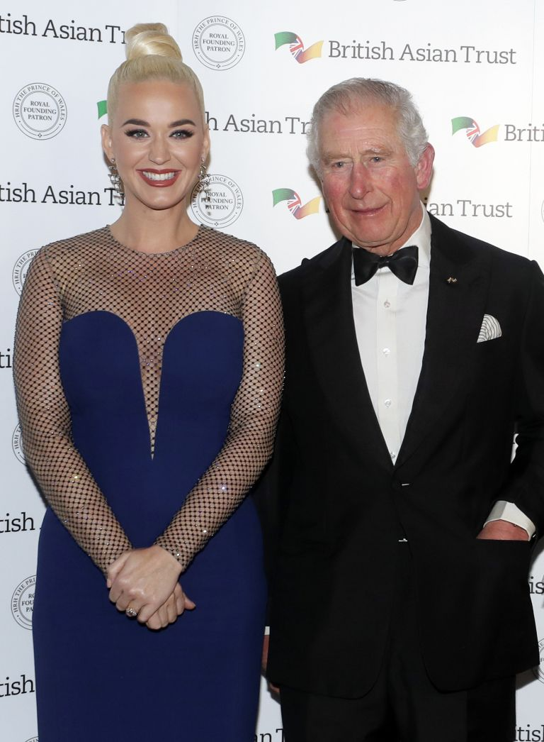 Prince Charles and Katy Perry