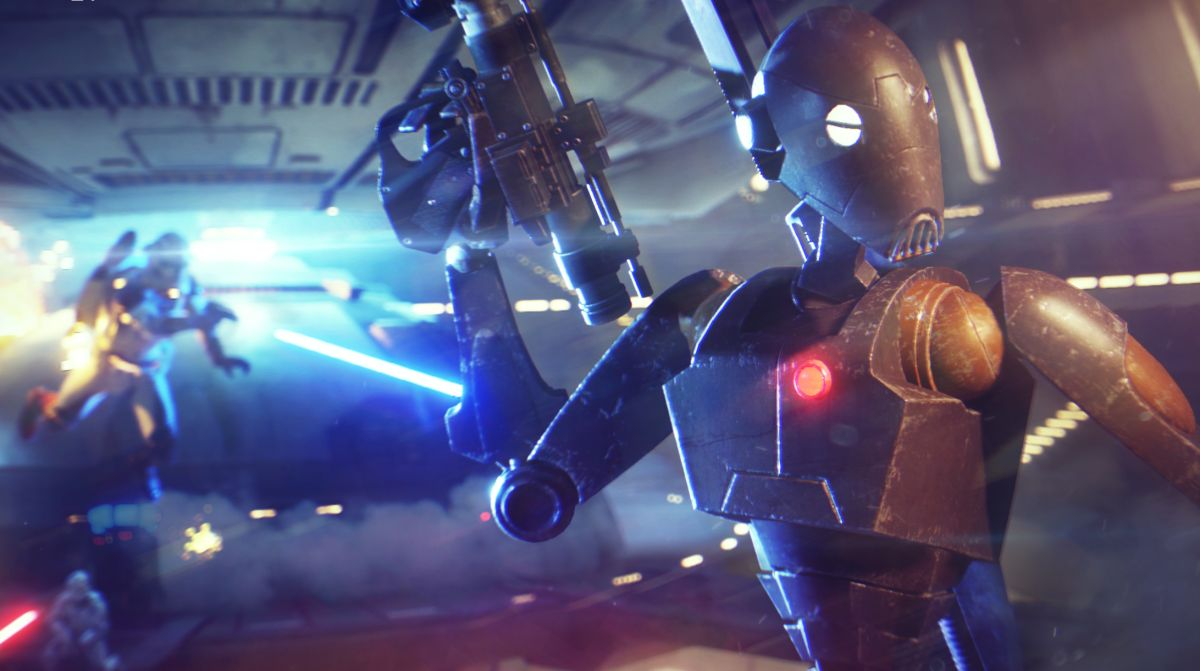 Star Wars Battlefront 2's new mode starts on the ground and ends in space