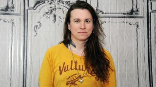 A picture of Against Me singer Laura Jane Grace