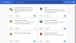Google Chrome extensions