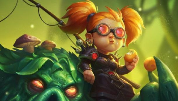Hearthstone players can claim the Nemsy Necrofizzle hero skin for free this week