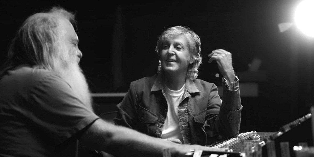 Rick Rubin and Paul McCartney on McCartney 3,2,1