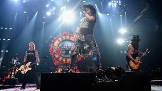 Guns N' Roses release short video showing life backstage on their mammoth Not In This Lifetime tour